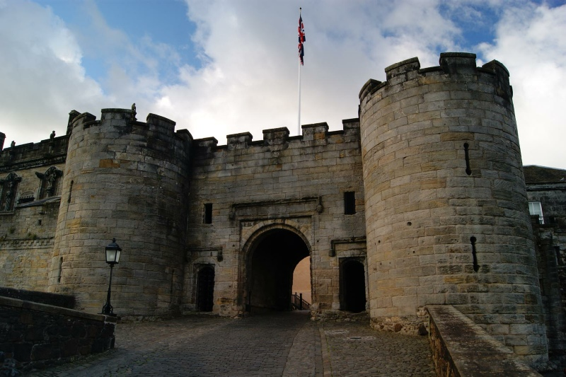 Stirling Castle Argyll Clyde And Ayrshire Castles Forts And