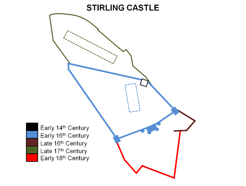 Stirling_Castle_Layout stirling castle argyll, clyde and ayrshire castles, forts and