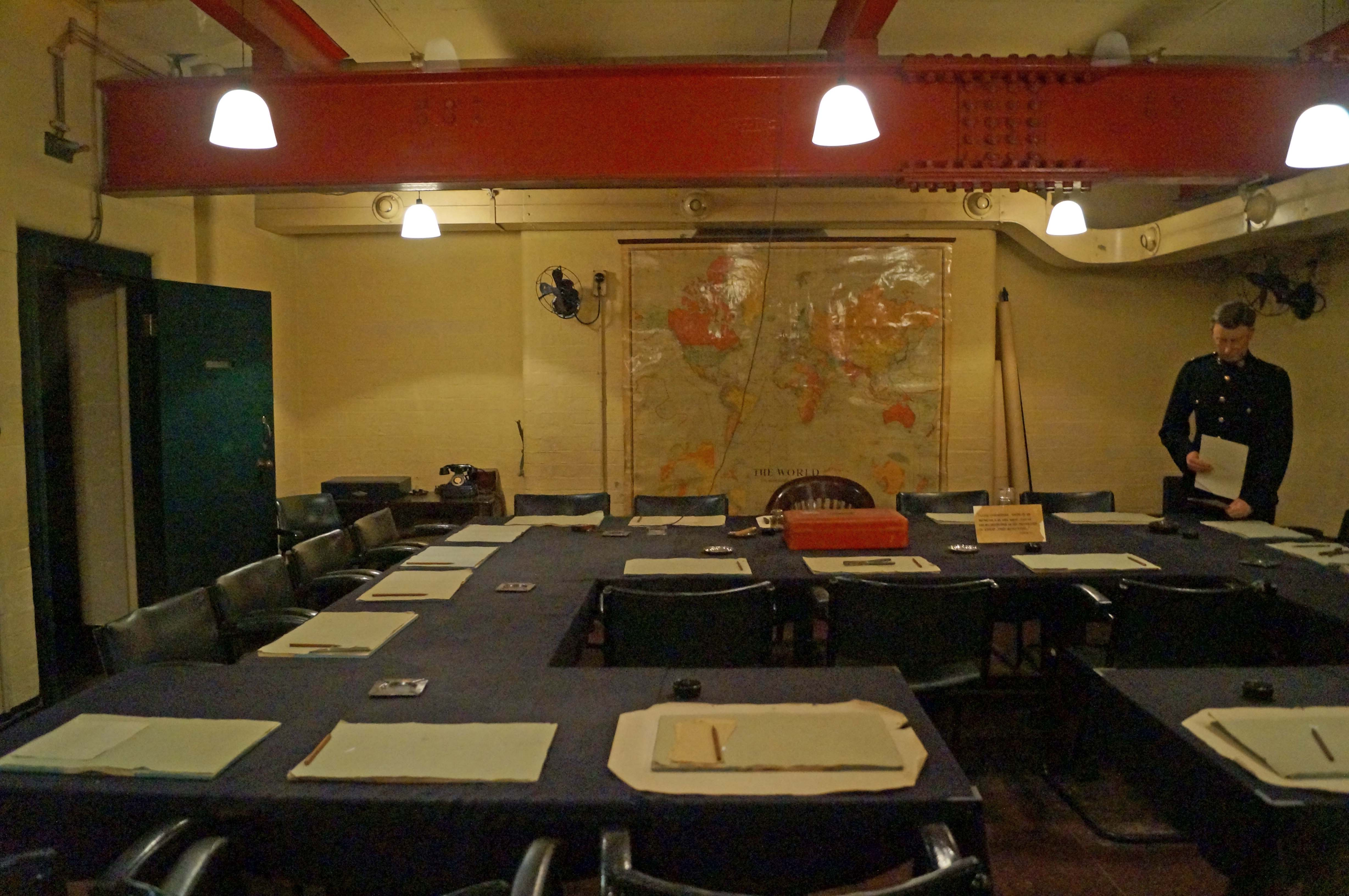Cabinet war rooms and the churchill museum greater london castles forts and battles - Churchill war cabinet rooms ...