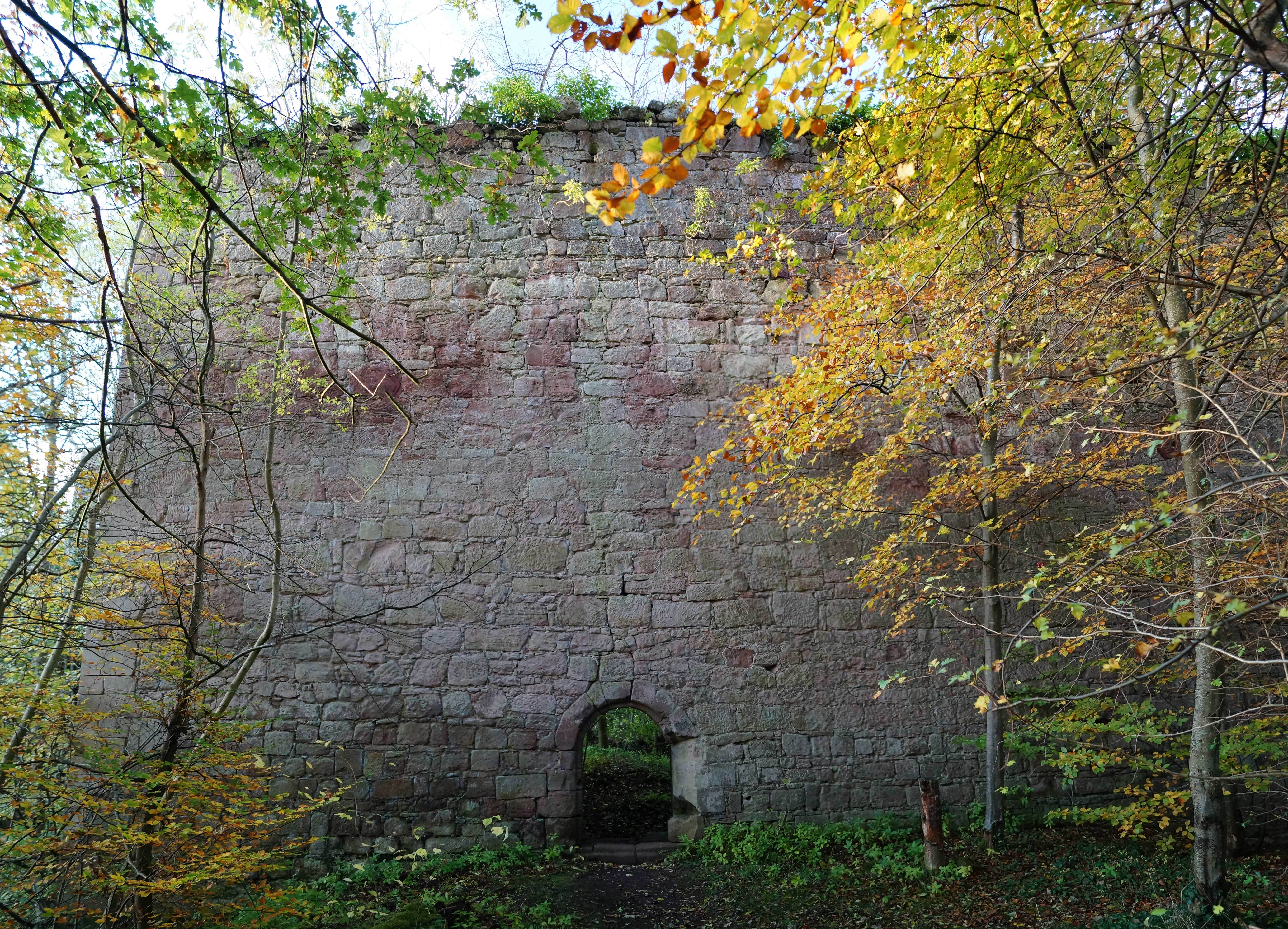 Yester Castle Scottish Borders And Lothians Castles Forts And