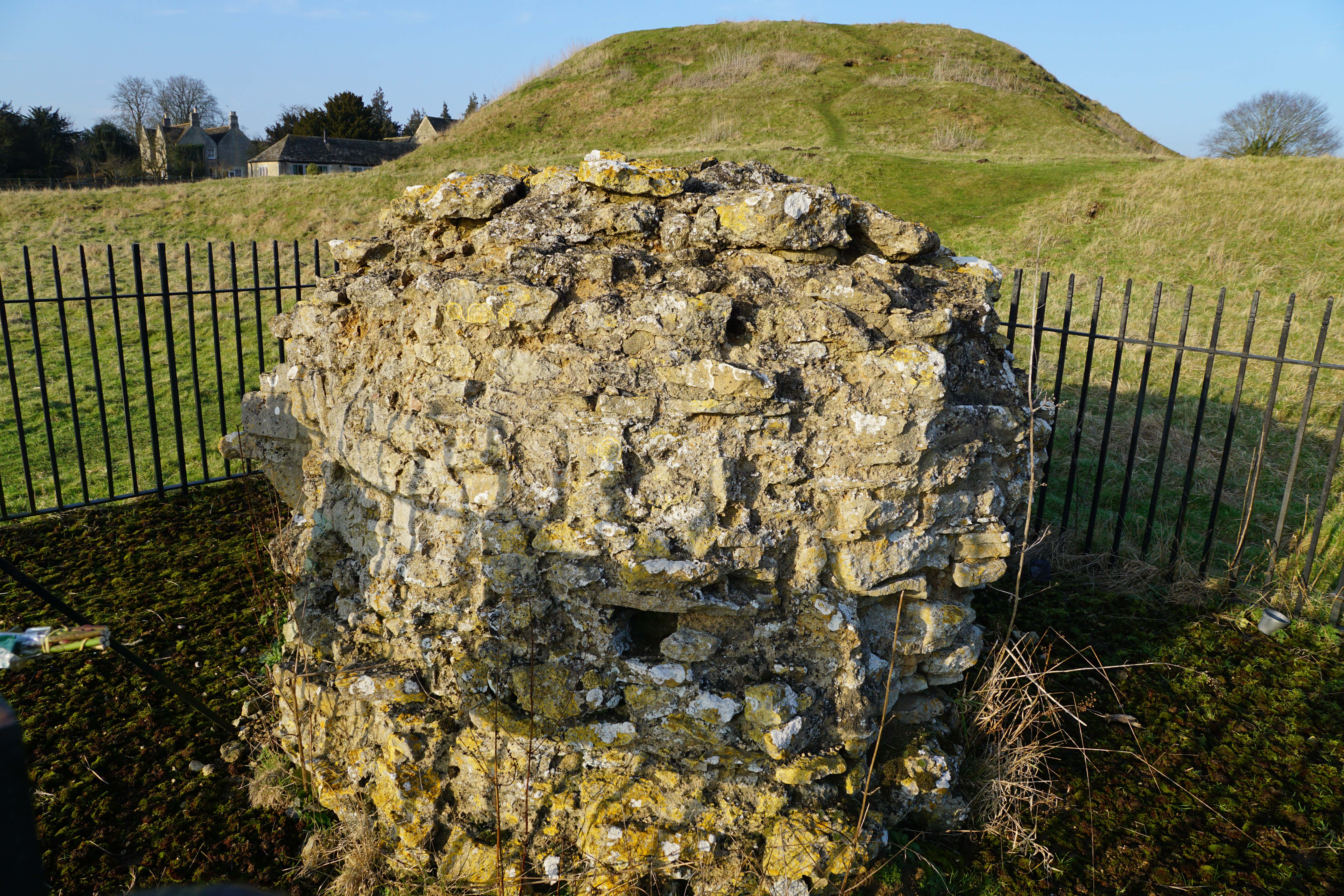 Fotheringhay Fragment Mary Queen Scots