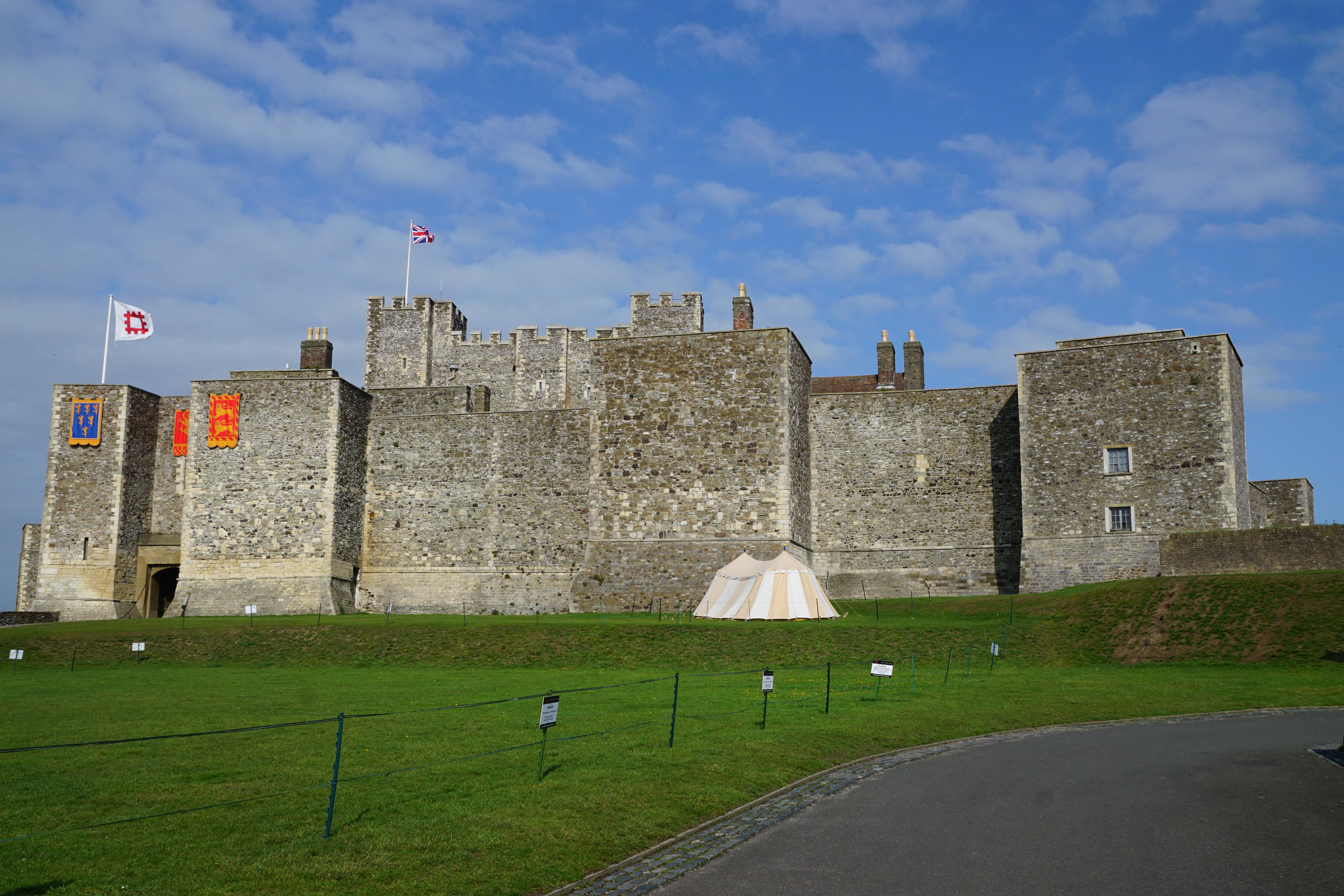 Dover castle south east castles forts and battles c copyright 2018 castlesfortsbattles sciox Image collections