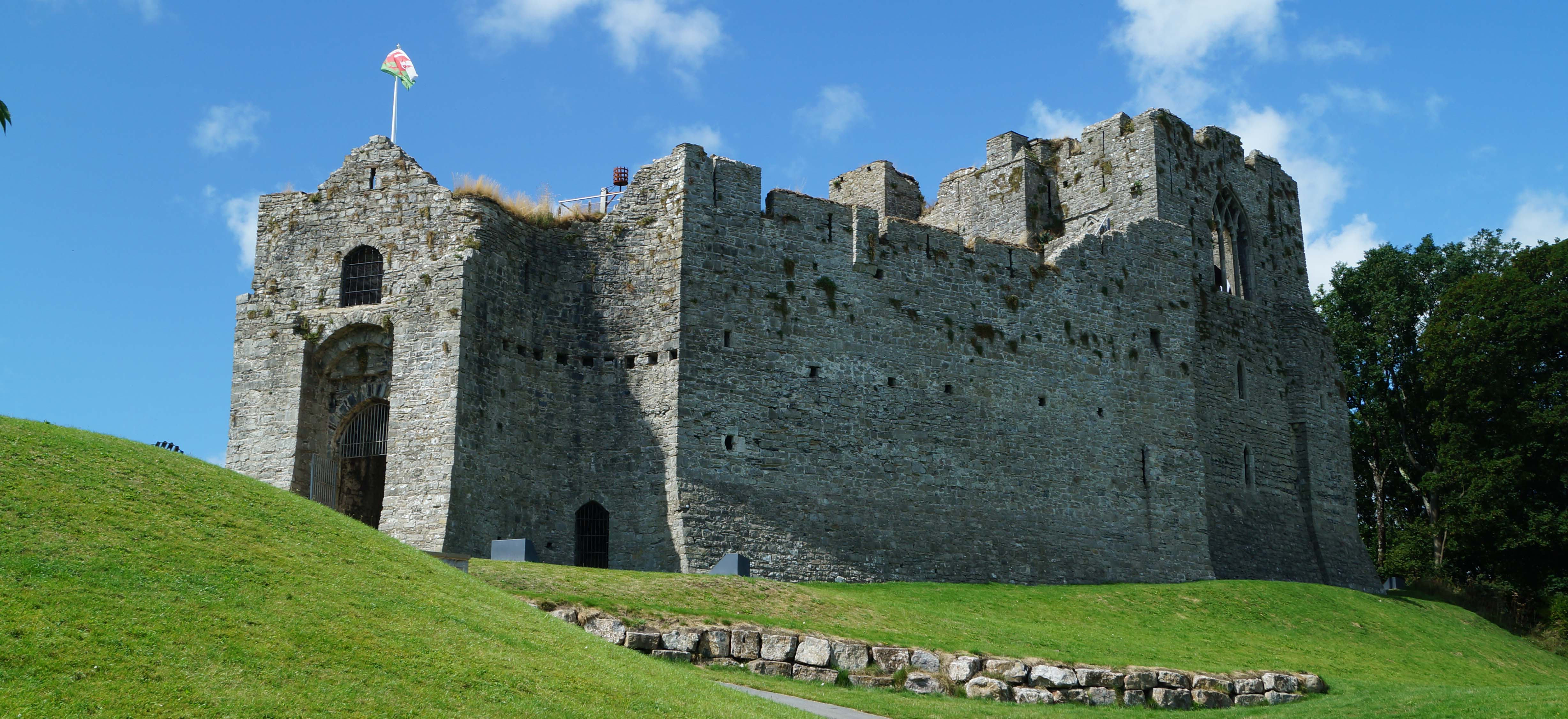 Oystermouth Castle | South West Wales | Castles, Forts and ...