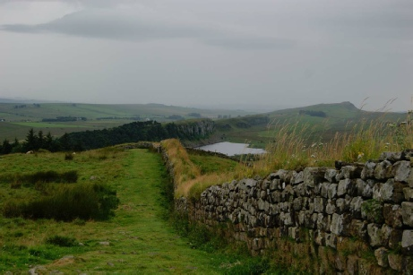 Hadrian's Wall - The Real Line of the Wall - Visiting Rome's Northern Frontier